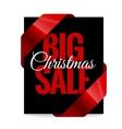 Big Christmas sale Black Label vector image vector image