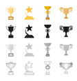 competition sport achievements and other web vector image vector image