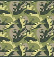 decorative leaves against a military style vector image vector image