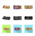 design ticket and admission icon set of vector image vector image