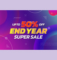 end year super sale poster background up to 50