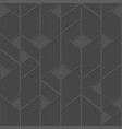 grey tile seamless pattern vector image vector image