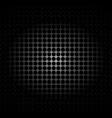 metal texture polygon black background vector image vector image