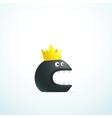 monster king vector image