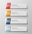 paper infographic10 vector image vector image