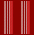 red background lines seamless pattern vector image vector image