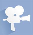 vintage cinema icon vector image vector image