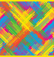 abstract grunge seamless chaotic pattern with vector image vector image