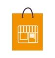 bag shop purchase icon vector image vector image