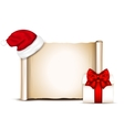 Christmas banners on white background vector image vector image