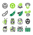 cucumber icon vector image