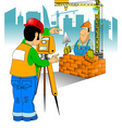 Engineering and construction vector image vector image