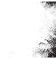 grainy grunge texture vector image vector image
