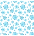 Seamless winter background vector image vector image