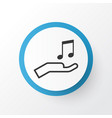 sell music icon symbol premium quality isolated