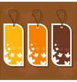 tags vector image vector image