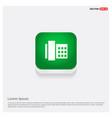 telephone icon green web button vector image