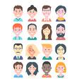 Cartoon People Avatars vector image