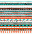 ethnic seamless pattern hand drawn tribal vector image vector image