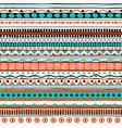 ethnic seamless pattern hand drawn tribal vector image