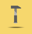 Hammer Tool Icon vector image