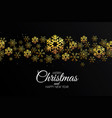 holiday christmas card made from triangles vector image vector image