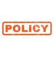 Policy Rubber Stamp vector image vector image