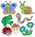 small animals collection 2 vector image