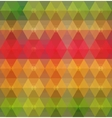 Pattern of geometric shapes Geometric background vector image