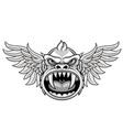 flying monkey vector image