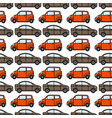 cars seamless pattern vector image