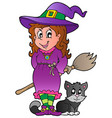 halloween character image 1 vector image