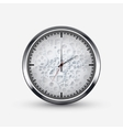 modern watch icon on white background vector image