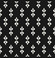 monochrome seamless pattern with curved shapes vector image