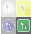 power and energy flat icons 14 vector image vector image
