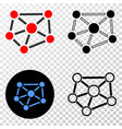 relations eps icon with contour version vector image vector image