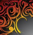 tattoo background vector image vector image