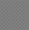 tile pattern with grey polka dots on background vector image vector image