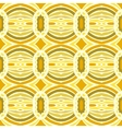 Tribal pattern with overlapping circles vector image vector image