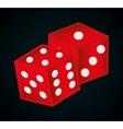 Casino royal games design vector image