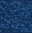 blue aqua water waves pattern seamless vector image
