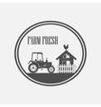 Fresh Farm Produce vector image