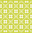 green geometric seamless pattern abstract texture vector image vector image