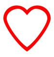 Love icon vector image vector image