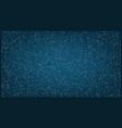 stream of binary matrix code on full screen vector image vector image