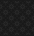 subtle minimalist dotted seamless pattern fine vector image vector image