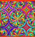 colorful seamless pattern of mosaic balls with vector image