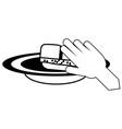 dish soap design vector image