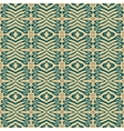 Flourish ethnic pattern in organic colors vector image