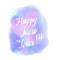 Happy New Year WinterAbstract background vector image vector image